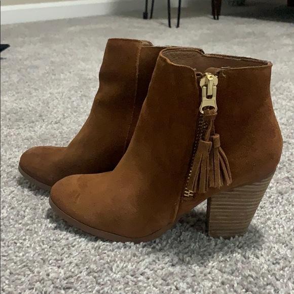 Aldo leather suede booties
